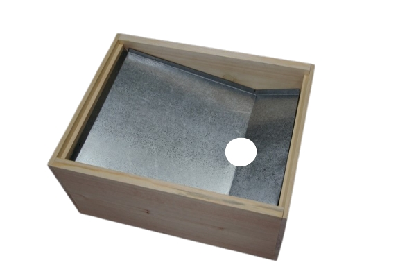 Solar Wax Melter & Super (Excluding Glass)
