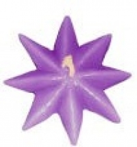 Candle Rustic Floating Star