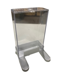 Feeder Rectangular Clear (2 Leg)