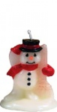 Candle Snowman